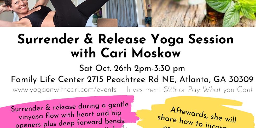 Surrender & Release Yoga Session