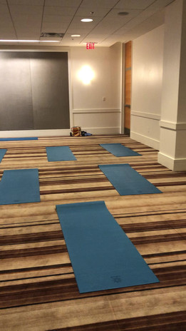 6am Corporate Yoga Event