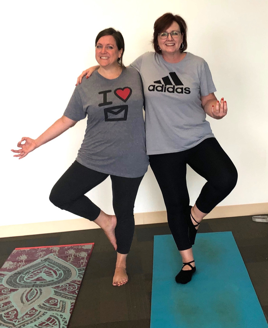 We love Yoga with Yogaon with Cari!