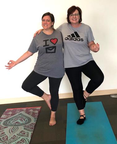 We love Yoga with Yogaon with Cari!