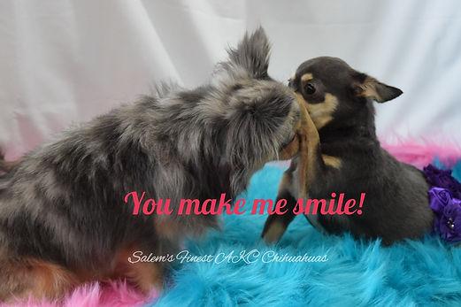 You make m smile