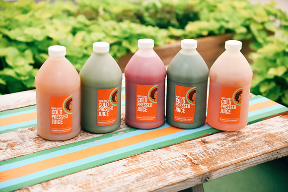 7 Day Cold Pressed Juice Reset