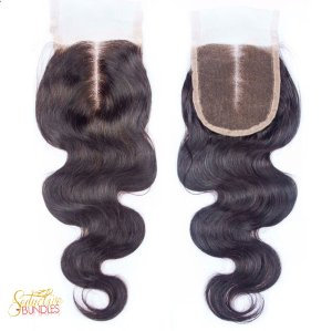 Body Wave Transparent 4x4 Closure
