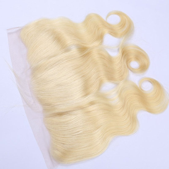 613 Russian Blonde Body Wave Frontal