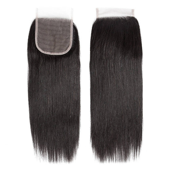 HD 4x4 Silk Straight Closure