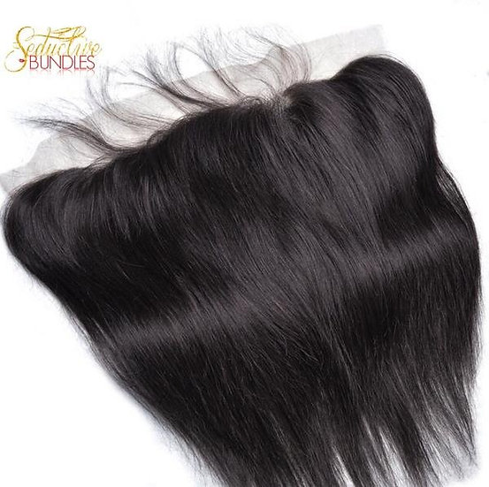 Brazilian Silk Straight Transparent Lace Frontal