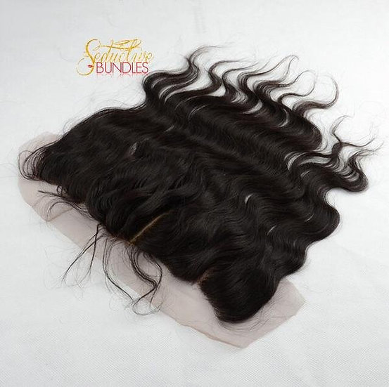 Brazilian Body Wave Transparent lace Frontal