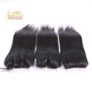 Brazilian Silk Straight 4x4 Transparent Lace Closure