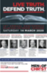 Men of Christ 2020 Conference