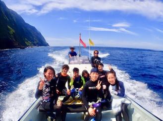 2017.8/22-24 御蔵島ドルフィンスイムツアー
