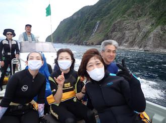 2020.7/20-22 御蔵島ドルフィンスイムツアー