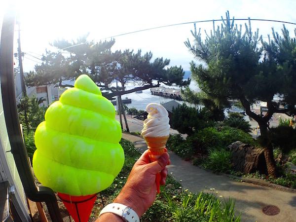 初島アイスクリーム