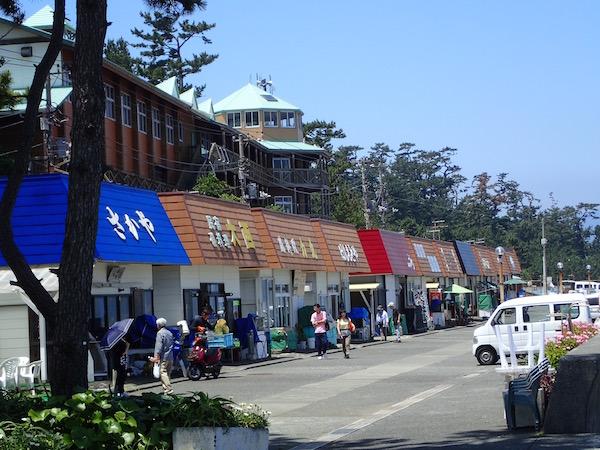 初島食堂街