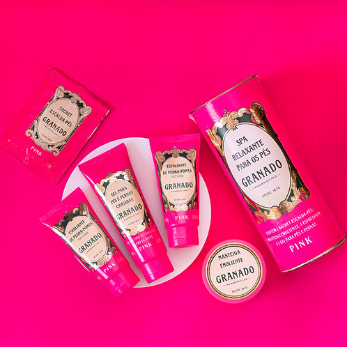 Spa Relaxante para os Pés - Kit com 4 produtos - Granado