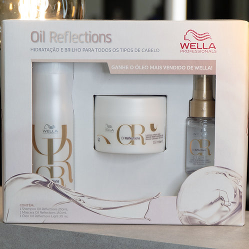 Kit Promocional Wella Oil Reflections