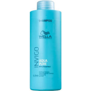 Wella Professionals Invigo Balance Aqua Pure - Shampoo Antirresíduos 1000ml