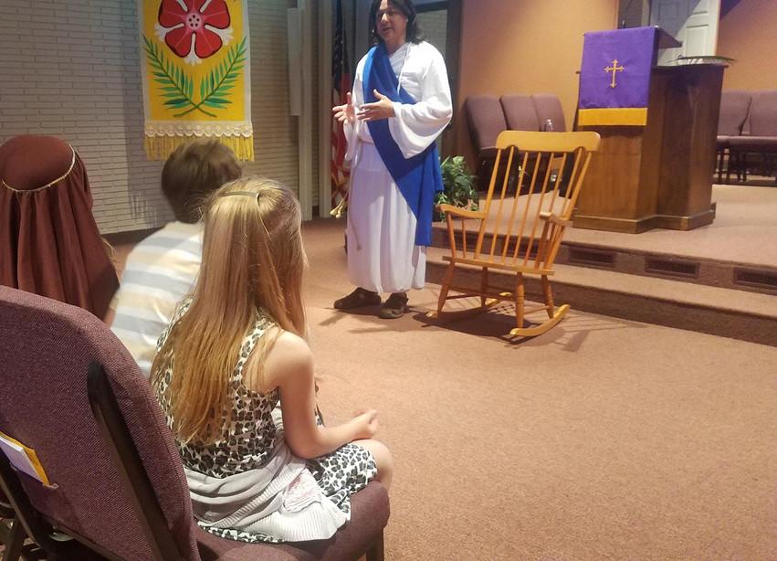 Holy Week visitor