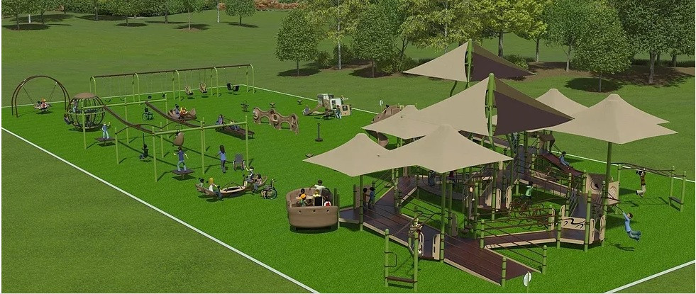 'Play for All' Playground (coming soon)