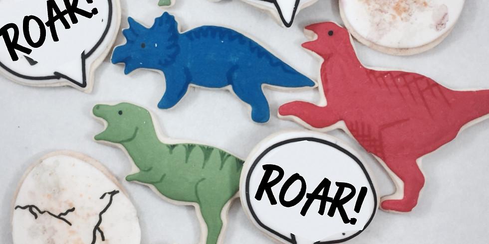 Dinosaur Cookie Class