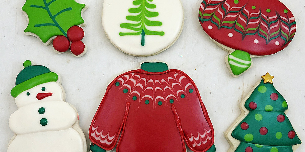 Christmas Cookie Class--SOLD OUT