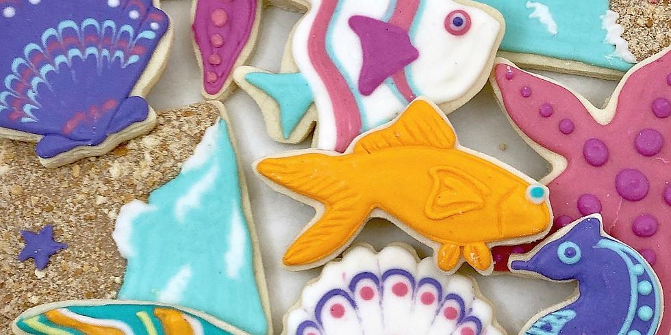 Beach Cookie Class