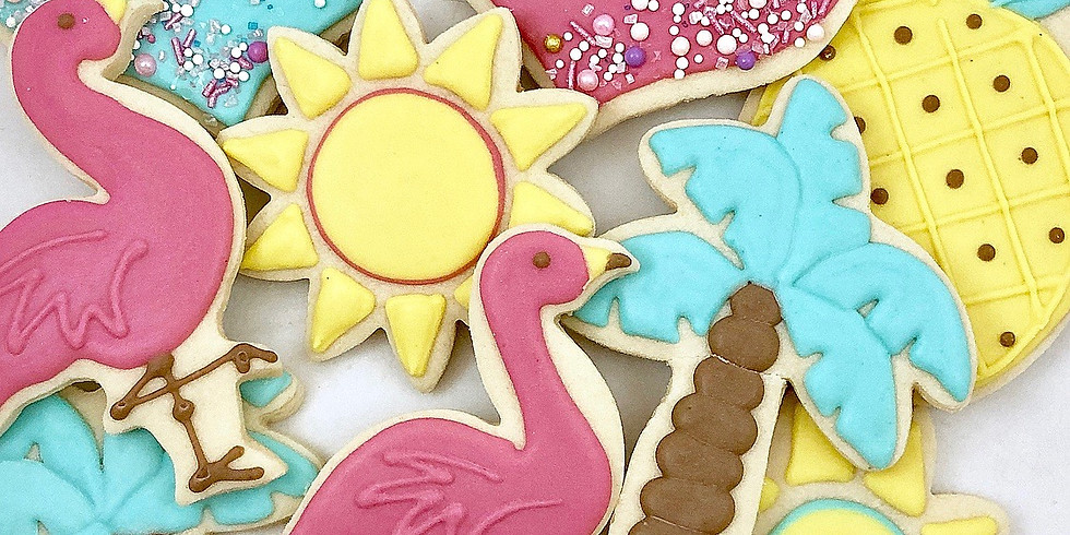 School's OUT for the Summer! Cookie Decorating Class