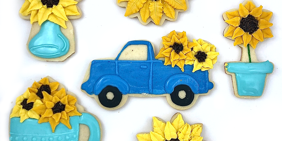 Sunflower Cookie Decorating Class