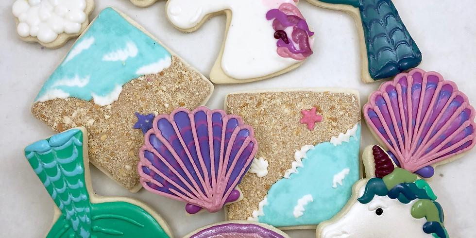 Mermaids, Unicorns, and Rainbows, OH MY! Cookie Class
