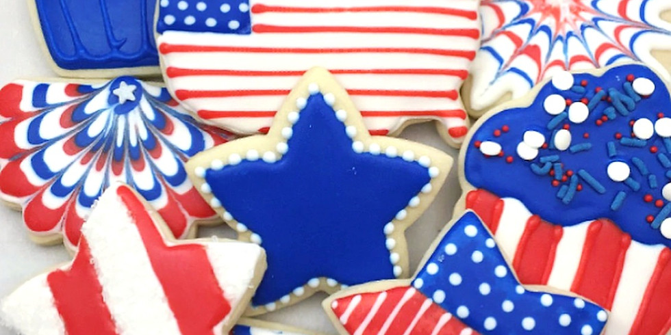 4th of July Cookie Workshop