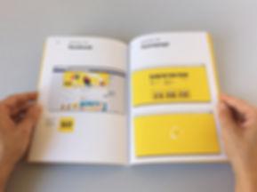 corporative identity manual web facebook