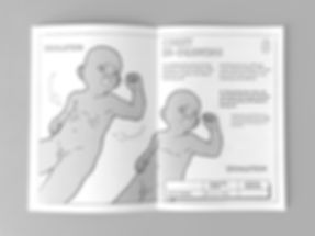Chilhood severe malaria guide editorial design