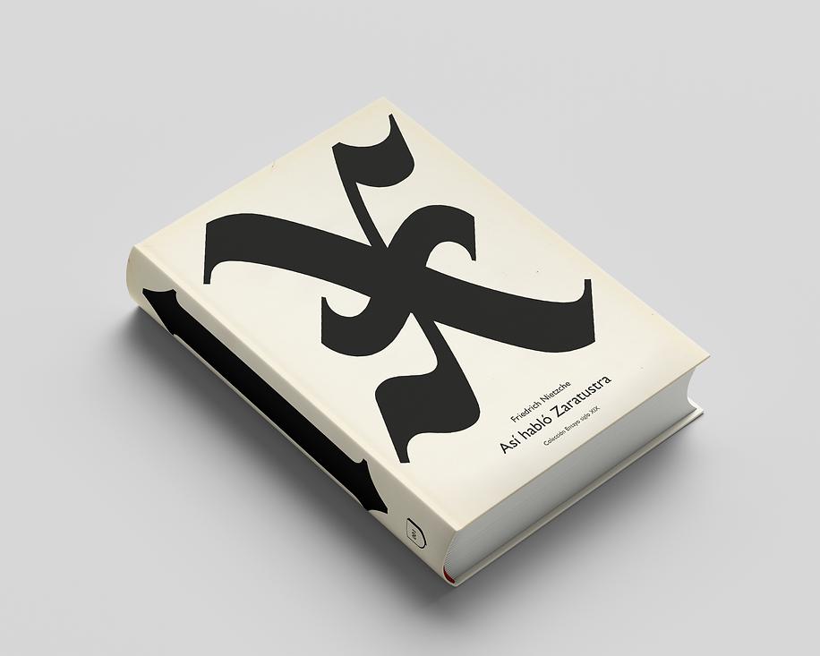 Cover design for the book Thus Spoke Zarathustra by Friedrich Nietzsche