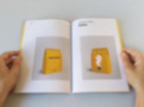 corporative identity manual branding packaging bag