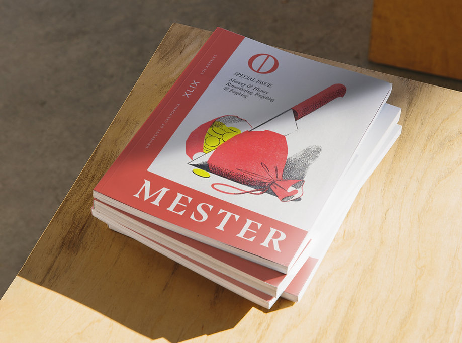 Illustration and graphic design for Mester, the graduate student academic journal of the Department of Spanish and Portuguese at the University of California, Los Angeles