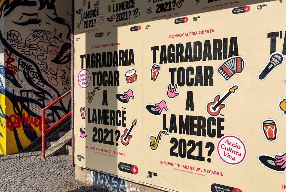 Open Call La Mercè 2021