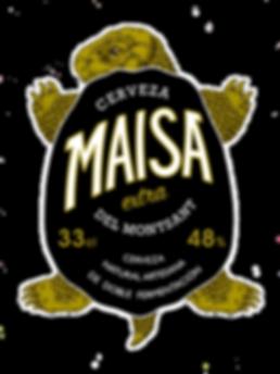 maisa beer branding packaging illustration tortoise