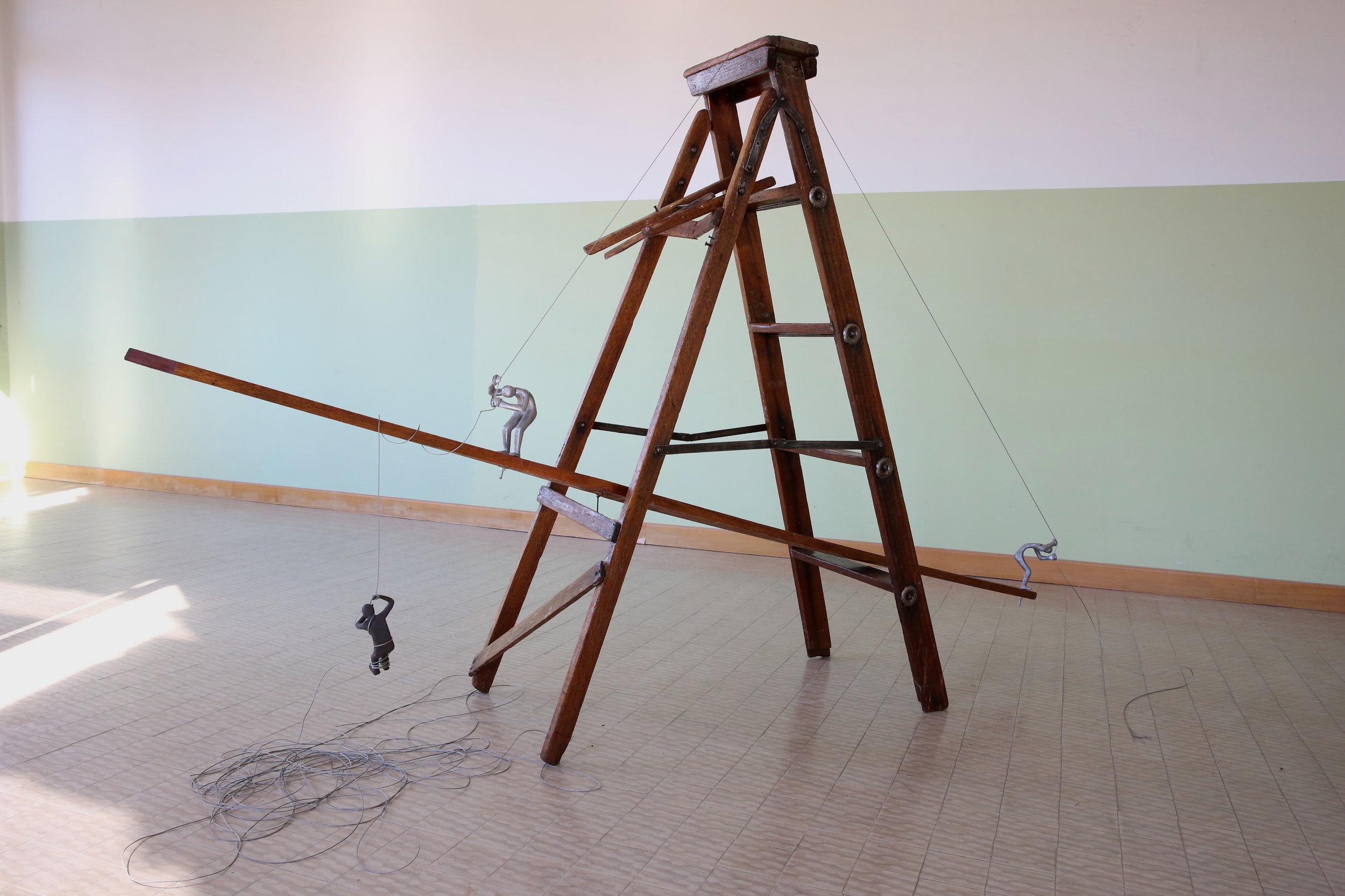 on the ladder by arlene wandera
