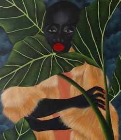 Zandile Tschabalala, Enter Paradise I, 2