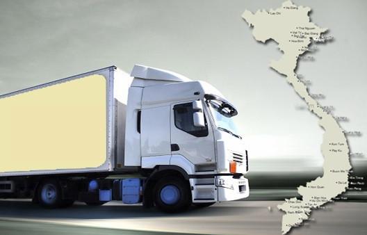 Quy trình cơ bản của dịch vụ vận tải đường bộ.