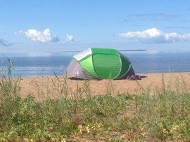 Tent Camping.