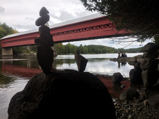 red bridge cairns