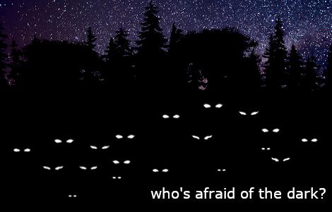 darkness falls, a fear of the dark