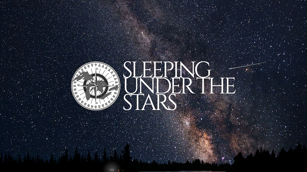 sleeping under the stars wallpaper