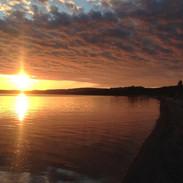 batchawan sunset