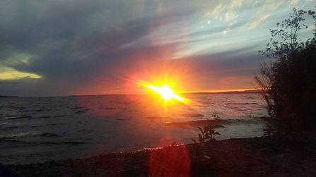 harmony beach sunset