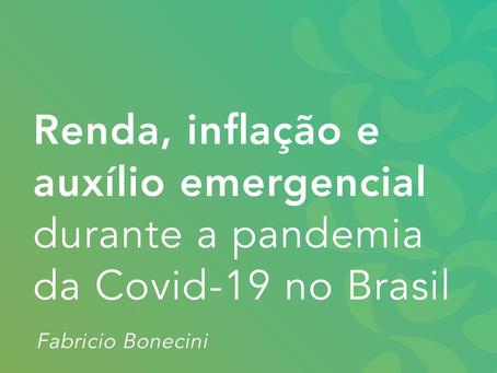 Renda, inflação e auxílio emergencial durante a pandemia da Covid-19 no Brasil