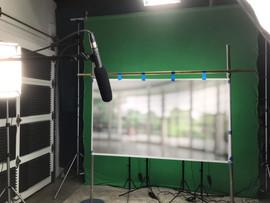 Video shoot interview set, Prosper Lincoln project.