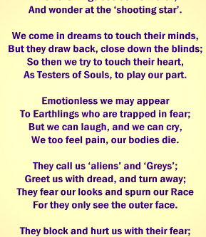 The WATCHERS - Poem by a Zeta Grey Elder