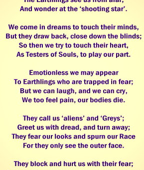The WATCHERS - Poem by a Zeta Grey Elder