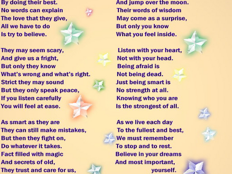 BELIEVE - A poem by a Star Child